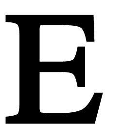 Amazon LET E S Letter E Small 6 Inch High Home & Kitchen