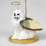 - American Eskimo Miniature Pet Angel Ornament