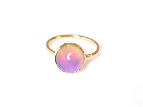 Medium Mood Ring in 14kt Gold ()