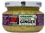 Emperor's Kitchen Organic Chopped Ginger ( 12x4.5 OZ) ( Value Bulk Multi-pack)