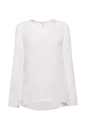 White 110 Off Femme Blanc Blouse Esprit a0xBXwIqS
