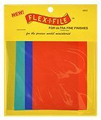 Flex-I-File Abrasive Sheets for Ultra-Fine Finishes