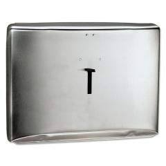 Personal Seats Toilet Seat Cover Dispenser, Stainless Steel, 16.6''x12.3'' X 2.5''