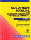 Free Training Manual (Solutions Manual for the Engineer-In-Training Reference Manual: English Units)