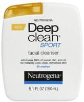Neutrogena Sport Facial Cleanser, 5.1 oz