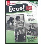 Ecco Uno, Level 1-Workbook - With CD - 09 edition (Ecco! Italiano, 1)