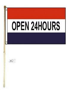 "Wall Mount Pole Banner Bracket 24/"""