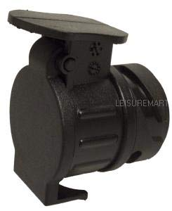 leisure MART 13 Pin to 7 Pin Car to Trailer Conversion Adapter Waterproof Socket Adaptor Pt no LMX744