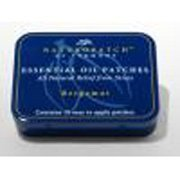 Natural Patches of Vermont - Calming Stress Formula Essential Oil Body Patches Bergamot - 10 Patch(ES) Formerly Naturopatch ()