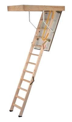 ECO+ 3 Section Timber Loft Ladder 60/120