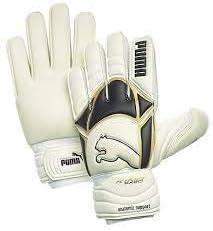 PUMA Kind Exec GC Goalkeeper Gloves White/Black/Gold Size 11