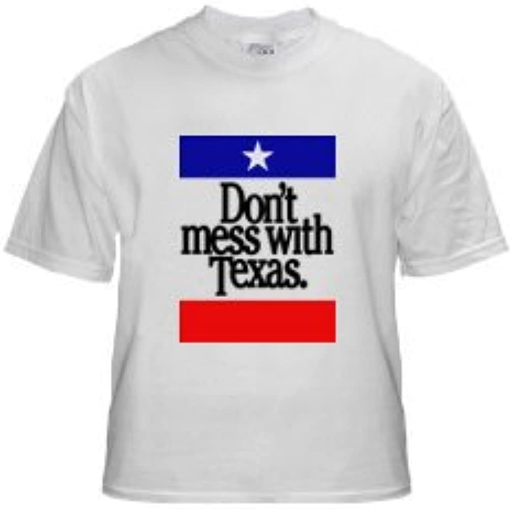 Don t Mess con Texas Camiseta - -: Amazon.es: Ropa y accesorios