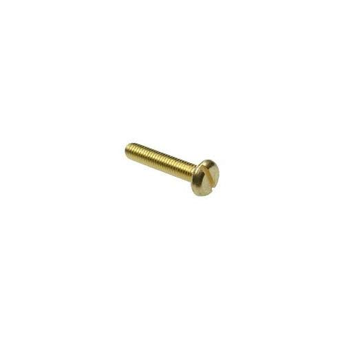 2-56 X 3//16 Slotted Pan Machine Screw Brass Package Qty 100