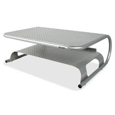 Metal Printer Stand, 40lbs Cap, 18.5''''x12''''x5.75'''', Silver, Sold as 1 Each by Allsop
