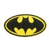 Batman Dark Knight DC Comics Movie Bat Logo Applique Embroidered Iron on Patch