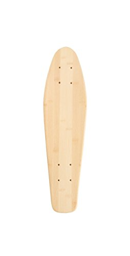 Bamboo Skateboards Mini Cruiser Blank Skateboard Deck, 6