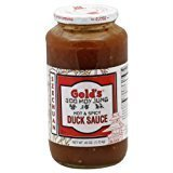 Gold's Hot & Spicy Duck Sauce Gluten Free KFP 40 Oz. Pk Of 3.