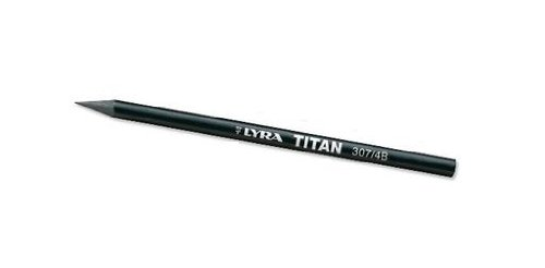 LYRA Woodless Titan Pencil, 307 4B, Black, 1 Pencil (2039104)