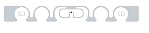 SMARTRAC ShortDipole RFID Paper Face Tag (Monza 5) - 100 tags