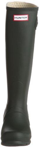 Women s Hunter Boots Originale Høy Snø Regn Vanntette Støvler Mørk Oliven