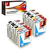 JetSir Compatible Replacement for HP 940 940xl Ink Cartridges High Yield, Work on HP Officejet Pro 8000 8500 8500A 8500A Plus Printer(4 Black,2 Cyan,2 Magenta,2 Yellow, 10-Pack) ()