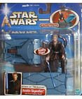 Star Wars: Episode 2 Deluxe Anakin Skywalker with Force Flipping Attack Action -