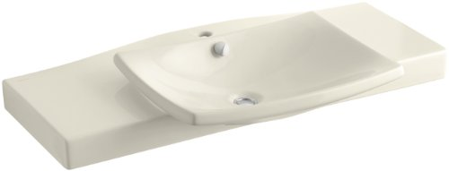 Kohler K-19034-1-47 Escale Vanity Top and Basin, Almond