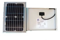 SGF-300 5 Watt Solar Panel for 12 Volt Charging and Mighty Mule SINGLE Gate Openers