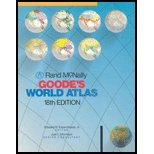 Rand McNally Goode's World Atlas, J. Paul Goode, Edward B. Espensha, 0528630040