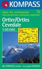 Kompass Karten, Ortler/Ortles, Cevedale