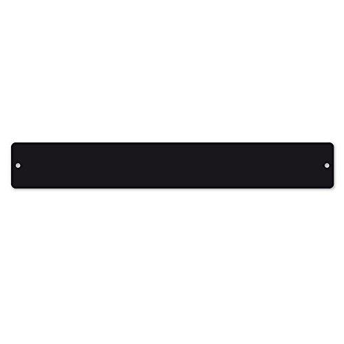Trendform Small Rectangular Magnetic Board / Strip c/w 6 Magnets - Black (350 x 50mm) Trendform® TF-TZ2010