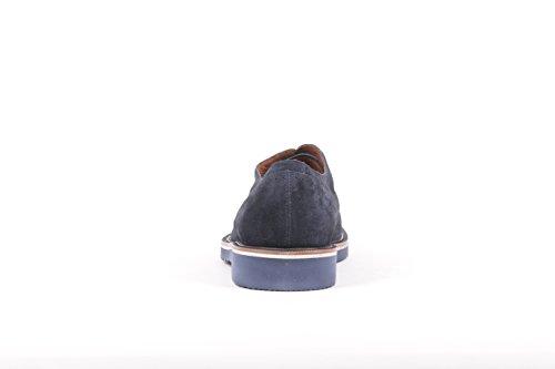Fratelli Rossetti Stringate Uomo 45852PL24202 Camoscio Blu