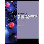Bundle: Hands-On Microsoft Windows Server 2008 Administration + Microsoft Windows Server Enterprise 2008 DVD Evaluation Unlimited Client 120 Day, Michael J. Palmer, 1435470230