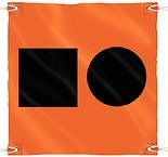NEW SEACHOICE DISTRESS FLAG-3'X3' SCP 78341