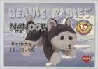 Birthday or Rookie - Nanook the Husky (Trading Card) 1998 Ty Beanie Babies Series 1 - [Base] - (Ty Beanie Babies Trading Cards)