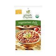 Simply Organic Mix Chili Vegetarian Org