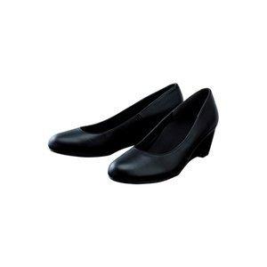 【足に優しいパンプス】フットスタジオパンプス 【ブラック】23.0cm B07D1KTJ77