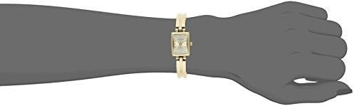 Anne Klein Women's 10-5404CHGB Gold-Tone Dress Watch WeeklyReviewer