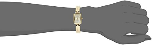 Anne Klein Women's 10-5404CHGB Gold-Tone Dress Watch