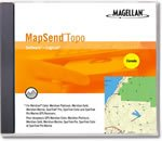 Magellan MapSend Canada Topographical Map CD-ROM (Windows)