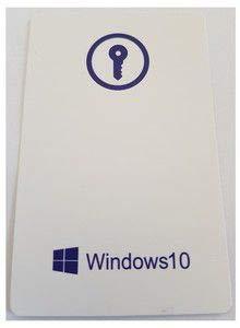Microsoft Windows 10 Professional FQC-09131 - Cartão Chave