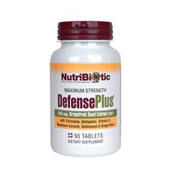 NUTRIBIOTIC DEFENSE PLUS WITH GSE 250 mg 90 Tabs
