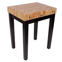John Boos Square Shaped Table (Alabaster) (John Boos Square Table)