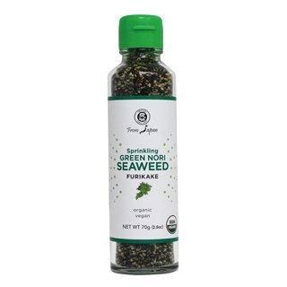 Muso From Japan Organic Furikake Sprinkles with Seaweed - Vegan - 2.5 Ounce