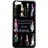 Akame Ga Kill Night Raid 3 Case / Color Black Plastic / Device iPhone 5c