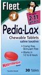 Fleet Pedia Lax Laxative - Fleet Pedia-Lax Saline Laxative Chewable Tablets Watermelon