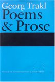 Georg Trakl - Poems and Prose, Trakl, Georg, 1870352718