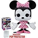 (Funko Pop! Disney: Minnie Mouse Vinyl Figure (Bundled with Pop Box Protector Case))