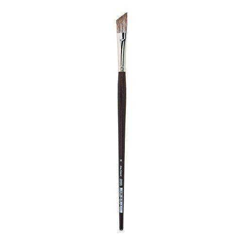 da Vinci Oil & Acrylic Series 7197 Grigio Paint Brush, Slant Synthetic with Bordeaux Ergonomic Handle, Size 16 (7197-16)