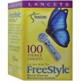 Freestyle Sterile Lancets 28 gauge - 100 ct
